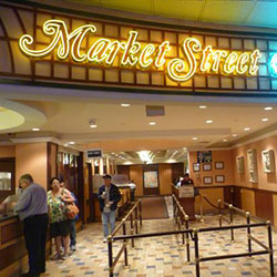 Market Street Café- California Hotel